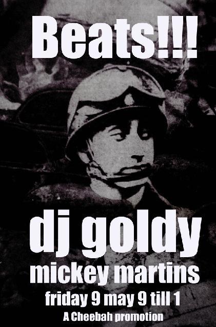 Goldy flyer
