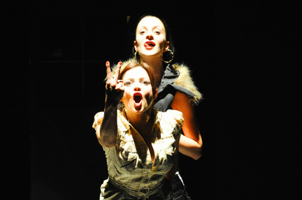 Maeve Fitzgerald & Jill Murphy in There Are Little Kingdoms - photo by Mike MacSweeney