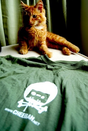 8 out of 10 cats prefer green cheebah teeshirts