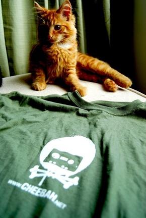 8 out of 10 cats prefer green cheebah teeshirts